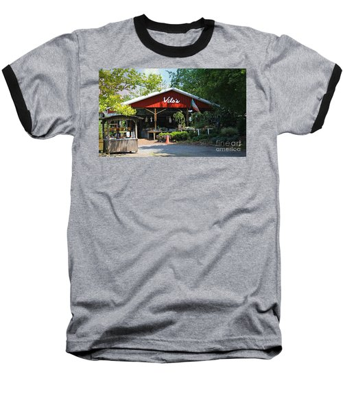 Vito's Farm Stand Baseball T-Shirt
