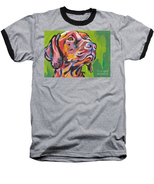 Viva La Vizsla Baseball T-Shirt
