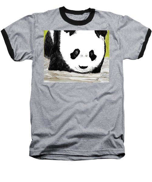 Vivi's Pet Panda Baseball T-Shirt