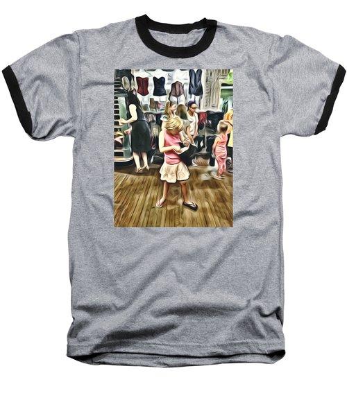Baseball T-Shirt featuring the photograph Vivo by Lanita Williams