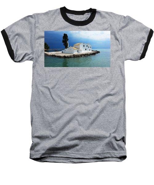Vlachurna Monastry Baseball T-Shirt