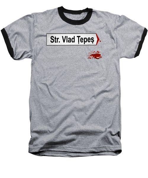 Impaler's Street Baseball T-Shirt by Marius Sipa