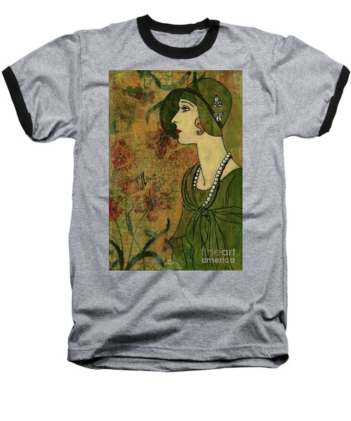 Vogue Twenties Baseball T-Shirt
