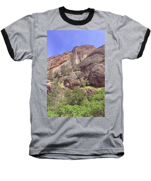 Baseball T-Shirt featuring the photograph Volcanic Colors by Art Block Collections