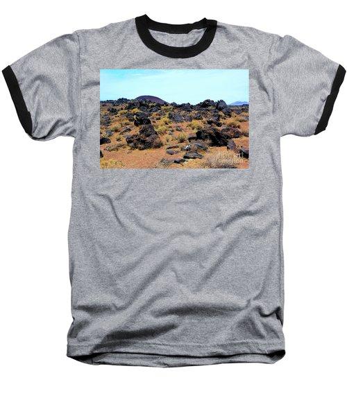 Volcanic Field Baseball T-Shirt