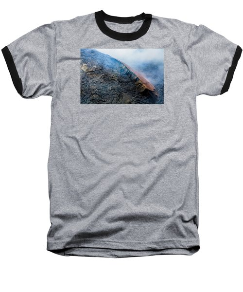Baseball T-Shirt featuring the photograph Volcanic Ridge by M G Whittingham