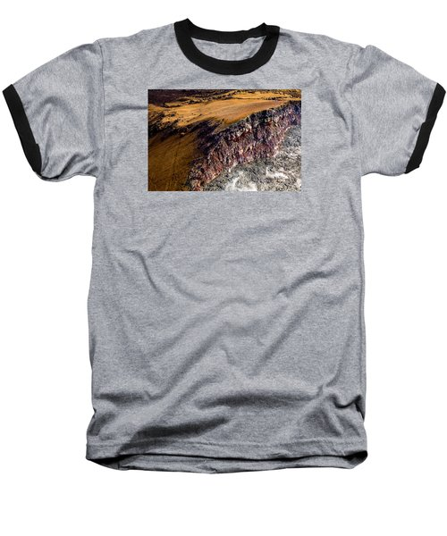 Baseball T-Shirt featuring the photograph Volcanic Ridge II by M G Whittingham