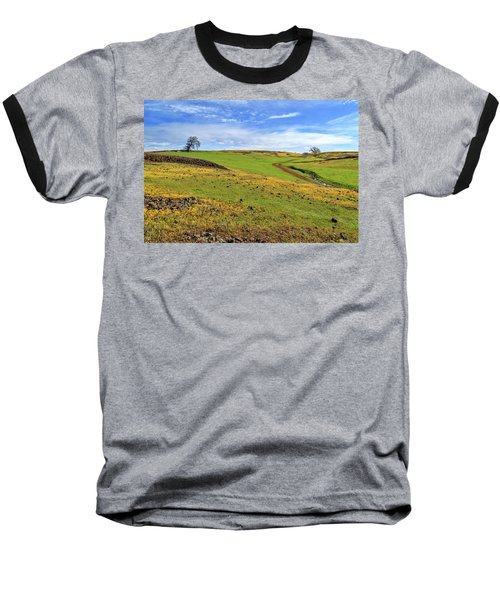 Baseball T-Shirt featuring the photograph Volcanic Spring by James Eddy
