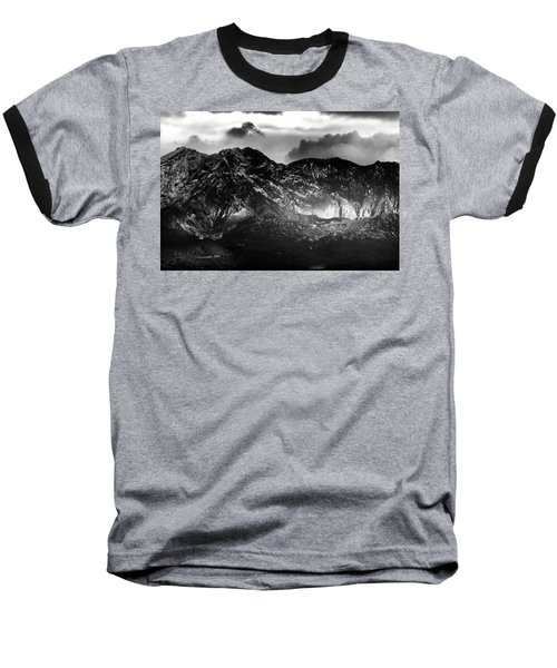 Baseball T-Shirt featuring the photograph Volcano by Hayato Matsumoto