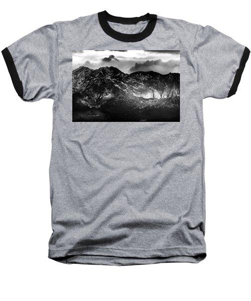Volcano Baseball T-Shirt