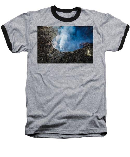 Another View Of The Kalauea Volcano Baseball T-Shirt