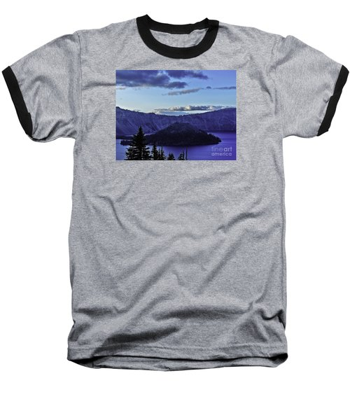 Baseball T-Shirt featuring the photograph Volcano Within by Nancy Marie Ricketts