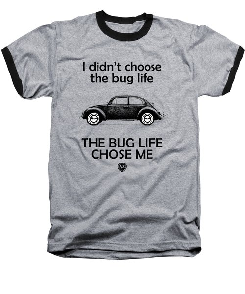 Volkswagen Beetle 1969 Baseball T-Shirt by Mark Rogan