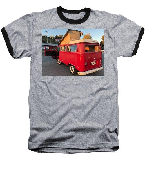 Volkswagen Bus T2 Westfalia Baseball T-Shirt