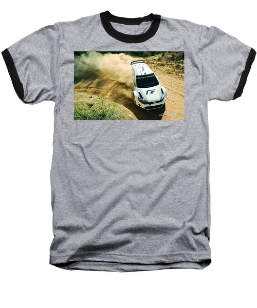 Volkswagen Polo Rally Baseball T-Shirt