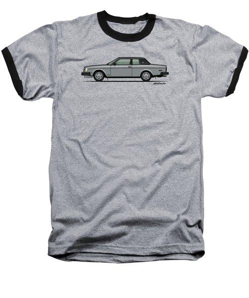 Volvo 262c Bertone Brick Coupe 200 Series Silver Baseball T-Shirt