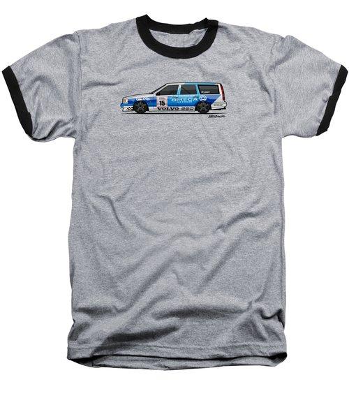 Volvo 850r Twr British Touring Car Championship  Baseball T-Shirt