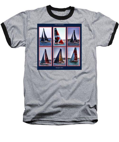 Volvo Ocean Race Newport 2015 Baseball T-Shirt