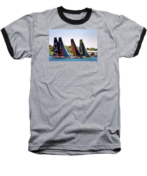 Volvo Ocean Race Newport Ri Baseball T-Shirt