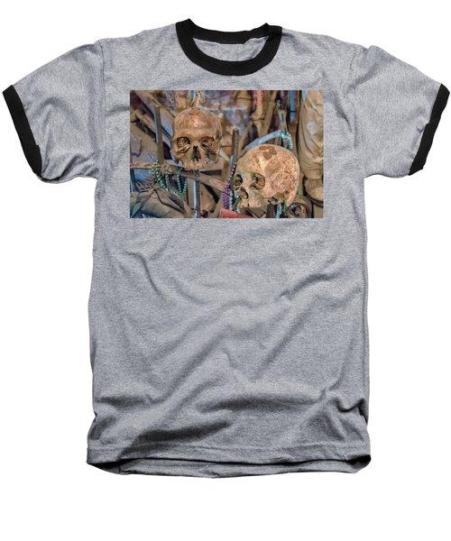 Voodoo Altar Baseball T-Shirt