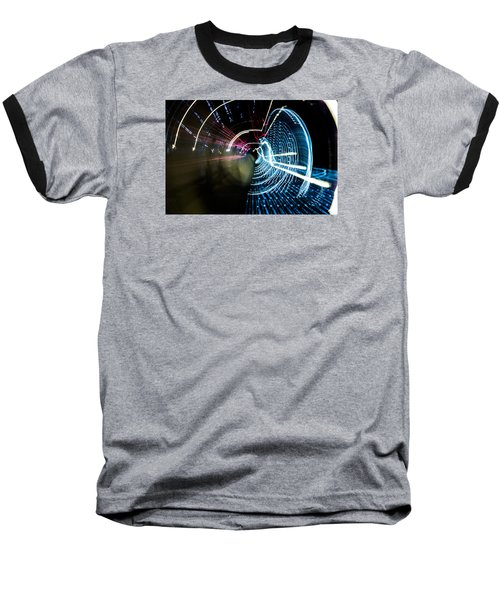 Baseball T-Shirt featuring the photograph Vortex by Micah Goff