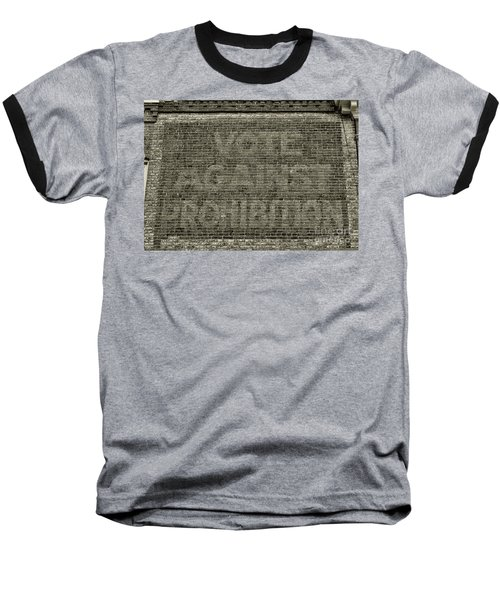Vote Against Prohibition 1 Baseball T-Shirt by Paul Ward