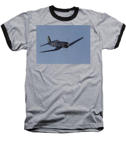 Vought Corsair Baseball T-Shirt by Pat Speirs