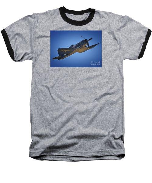 Vought F4u Corsair No. 29 To Angels Eleven Baseball T-Shirt
