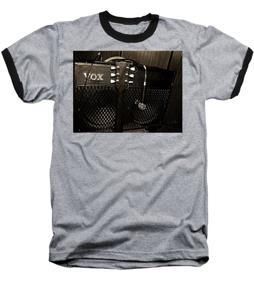 Vox Amp Baseball T-Shirt by Chris Berry
