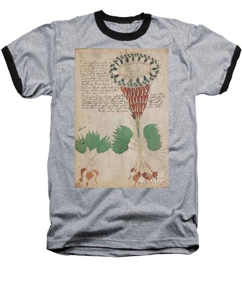 Voynich Flora 15 Baseball T-Shirt