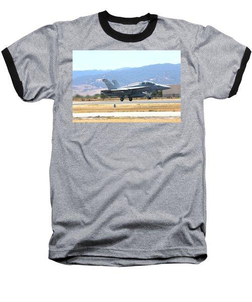 Vr  Mcdonnell Douglas-f/a18 Hornet Departs Hollister Air Show Baseball T-Shirt