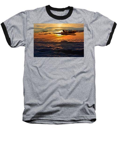 Vulcan Bomber Sunset 2 Baseball T-Shirt