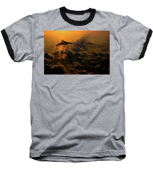 Vulcan Bomber Sunset Baseball T-Shirt