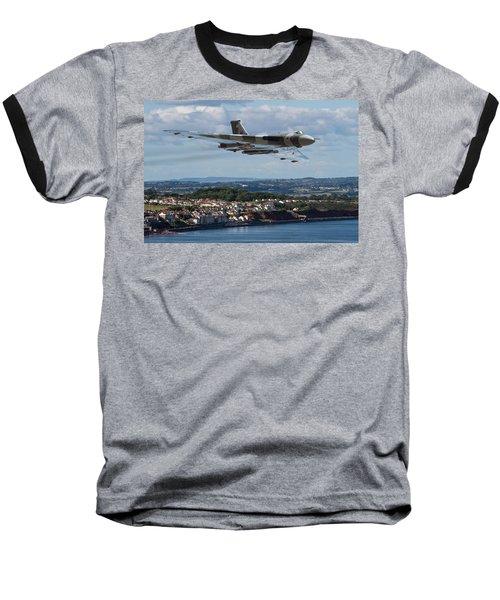 Vulcan Bomber Xh558 Dawlish 2015 Baseball T-Shirt by Ken Brannen