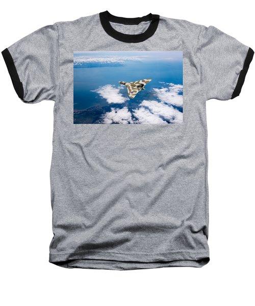 Vulcan Over South Wales Baseball T-Shirt