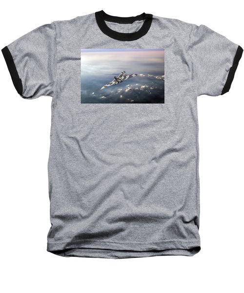 Vulcan Over The Channel Baseball T-Shirt
