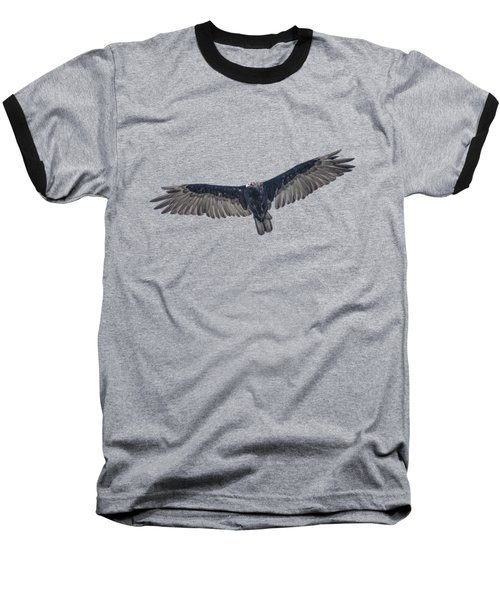 Vulture Over Olympus Baseball T-Shirt
