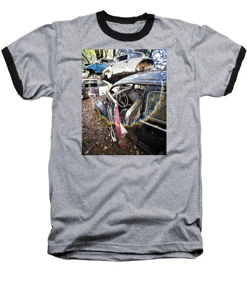 Vw And Friends Graveyard Baseball T-Shirt