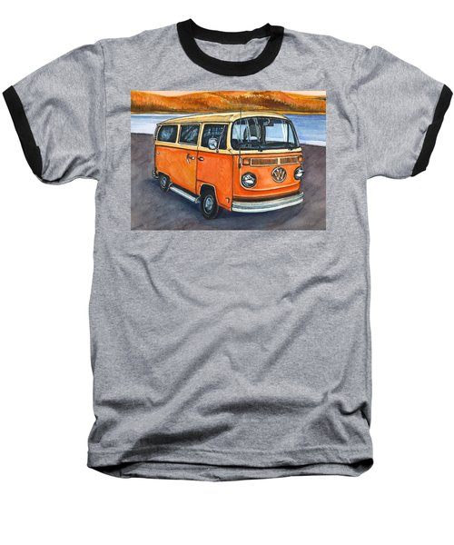 Ryan's Magic Bus Baseball T-Shirt