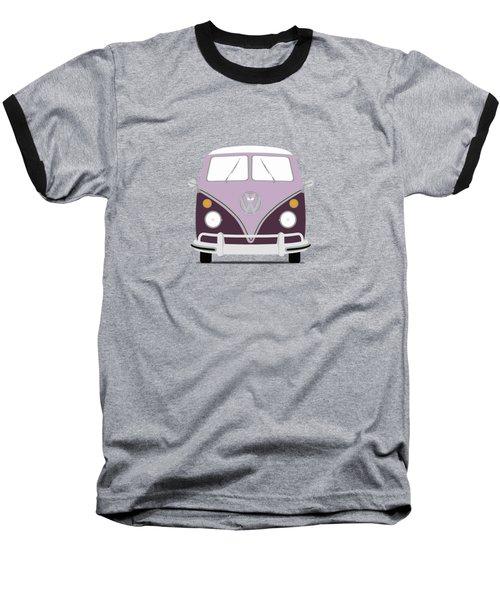 Vw Bus Purple Baseball T-Shirt