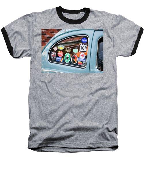 Baseball T-Shirt featuring the photograph Vw Club by Chris Dutton