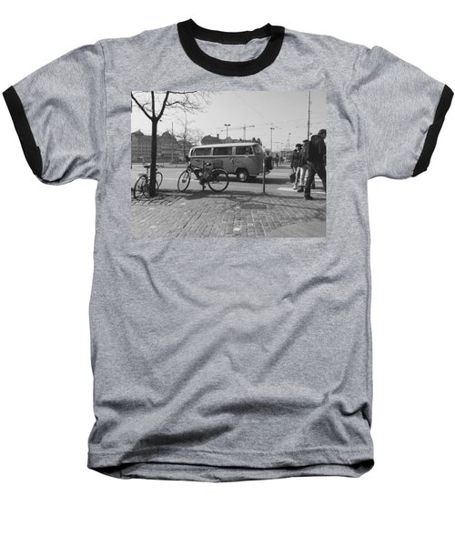 Vw Oldie Baseball T-Shirt by Andy Langemann