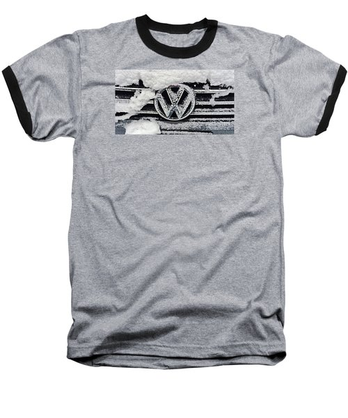 Vw Snow Day Baseball T-Shirt