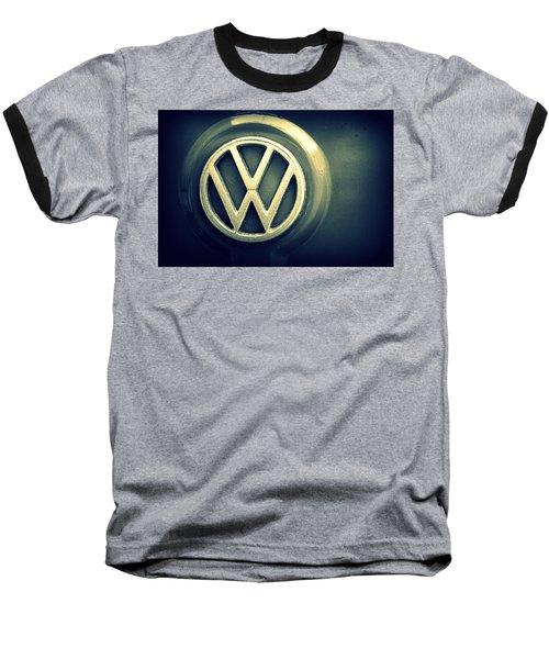 Vw Thing Emblem Baseball T-Shirt by Joseph Skompski