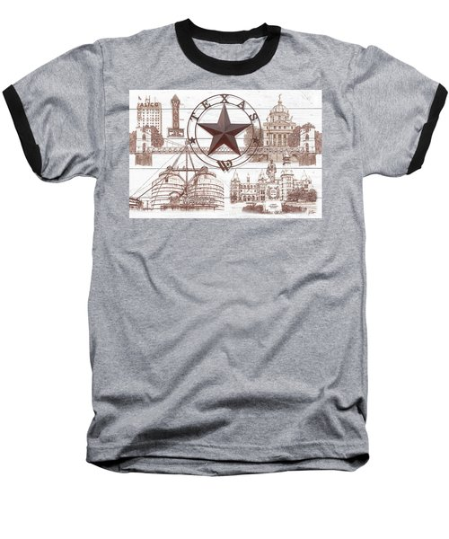 Waco Texas Baseball T-Shirt