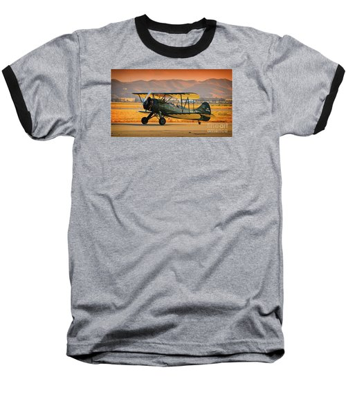 Waco Upf-7  Version 2 Baseball T-Shirt