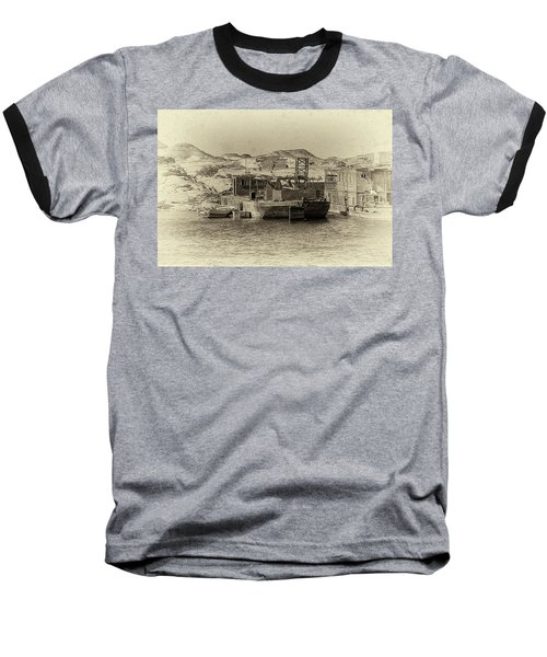 Wadi Al-sebua Antiqued Baseball T-Shirt