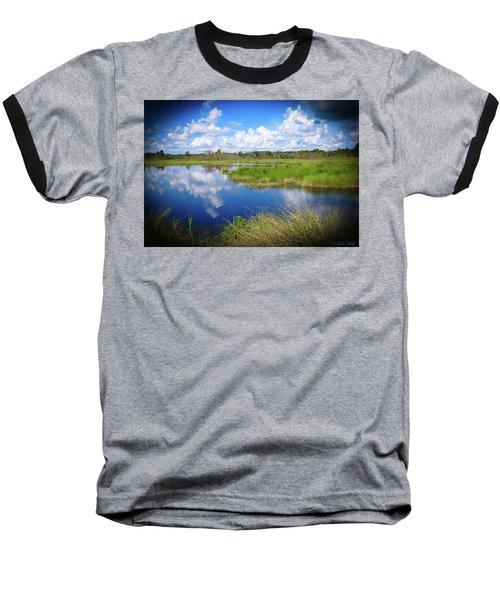 Wading Bird Way Baseball T-Shirt