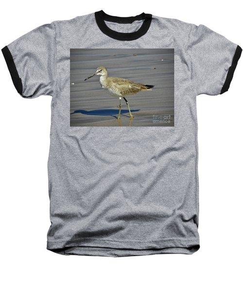 Wading Day Baseball T-Shirt by Sheila Ping