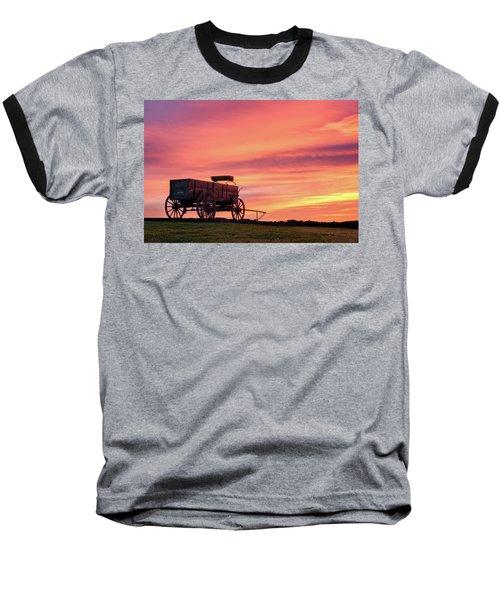 Wagon Afire Baseball T-Shirt